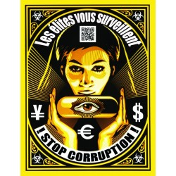 Stickers-Stop corruption!