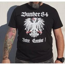 """T-shirt Bunker 84 """"Notre..."""