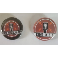 Badges Radio Martel En Tête
