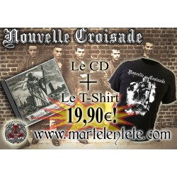 Pack Tee-shirt+Cd Nouvelle...
