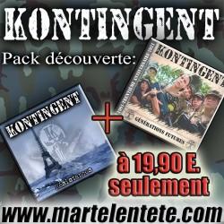 Pack cd Kontingent